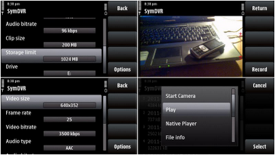 Use S60 Device as a Secret Recording Tool