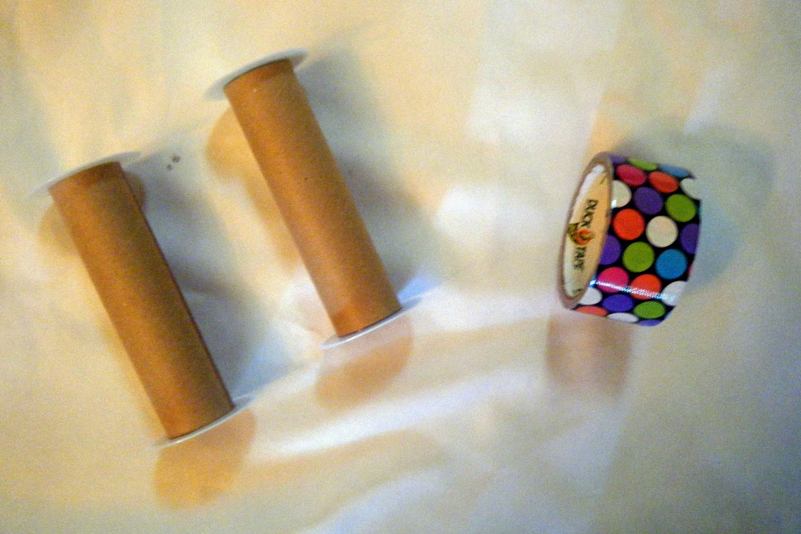 Quick And Easy Cardboard Craft Binoculars Crafty Mountain Mama Hobby Hound Diy Electronics Projects2 First I Just Wrapped The Tubes With Tape No Science There