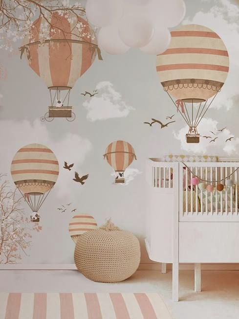 I De A Hot Air Balloons In The Kid S Room