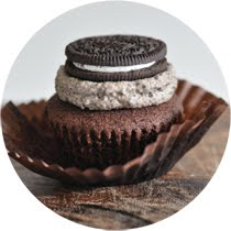 Hidden Oreo Cupcakes