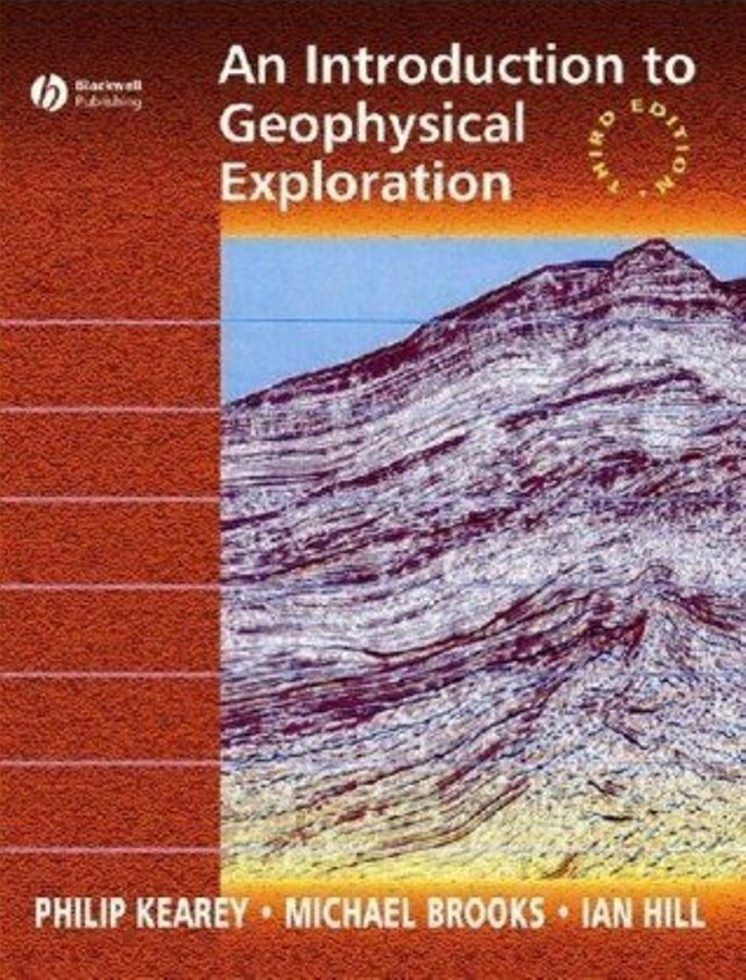 Geophysical Exploration, Philip Kearey, مقدمة فى الاستكشاف الجيوفيزيائى