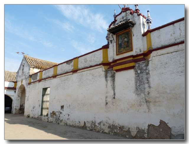 Patio Principal de la Hacienda El Cuzco