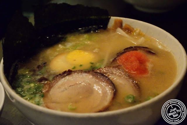 Image of Deluxe ramen at Hide-Chan ramen in NYC, New York