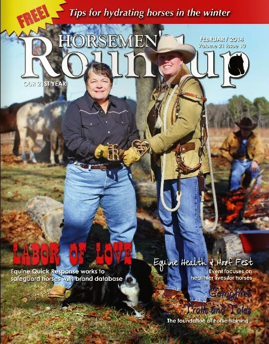 Sponsored by the Horsemen's Roundup Magazine