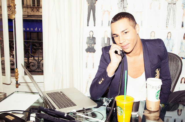 The Coveteur, Olivier Rousteing, Balmain, creative director, Paris, HQ, fashion, designer, fashion,