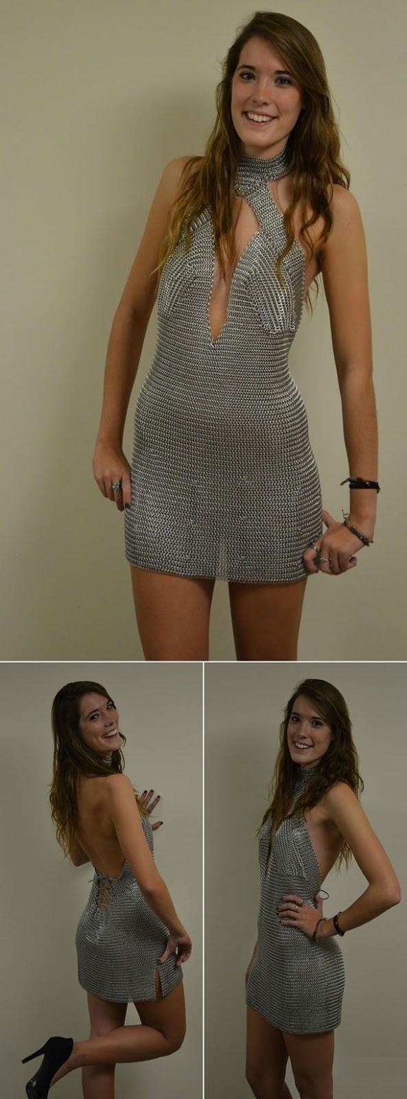 Vestido de Alumínio