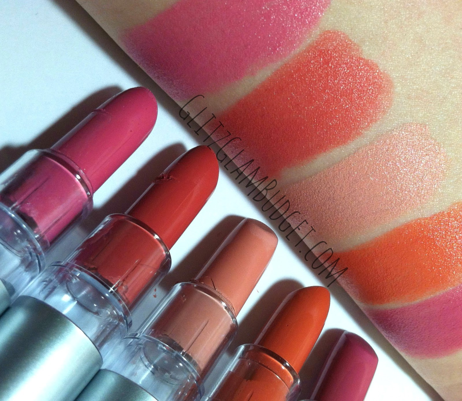 ELF Cosmetics Lipstick Swatches