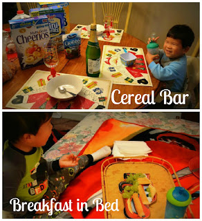 breakfast, kids, fun