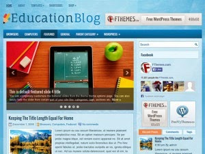 EducationBlog - Free Wordpress Theme