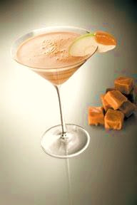 Happy Hour: Creamy Caramel Apple Martini