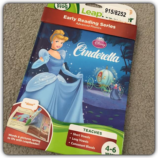 cinderella leapreader interactive book