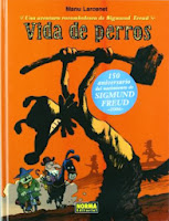 Vida de perros: Una aventura rocambolesca de S.Freud,Manu Larcenet,Norma Editorial  tienda de comics en México distrito federal, venta de comics en México df