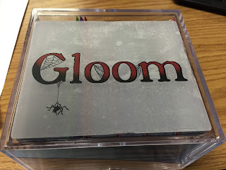 "Box with color ""Gloom"" label stickered on the lid"