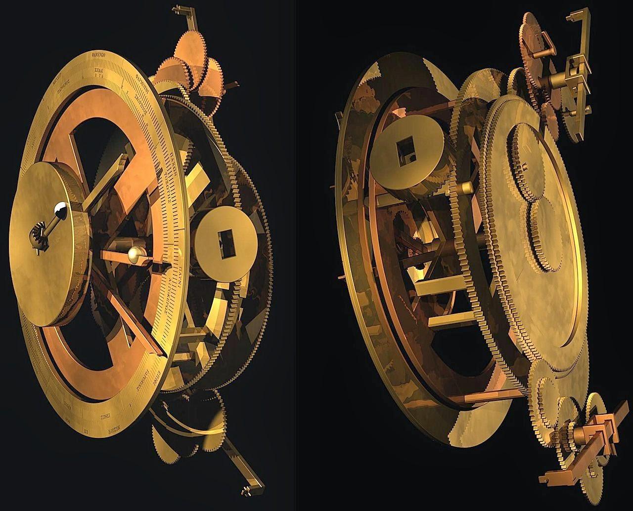 Computador de Arquimedes (réplica): muitas de suas funcionalidades ainda não foram descobertas