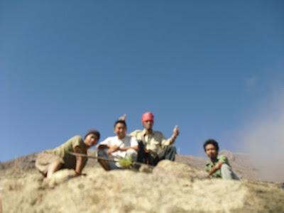 Nekad Traveller on Gunung Raung