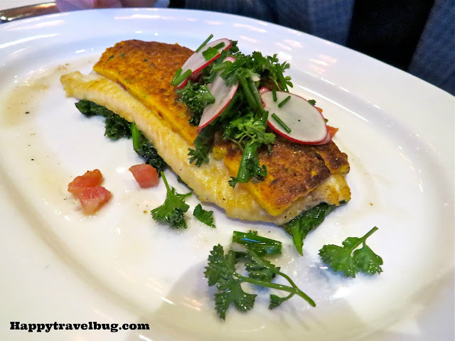 Corn crusted West Virginia brook trout