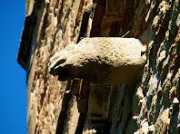 Gàrgola del campanar de l'església de Santa Maria de Gaià