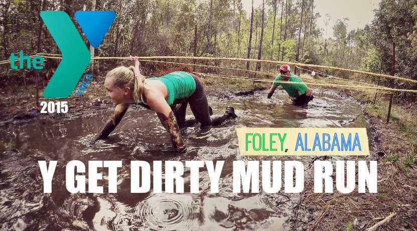 Y Get Dirty Mud Run Foley Alabama - Snook Family YMCA Mud Run - Y Campaign