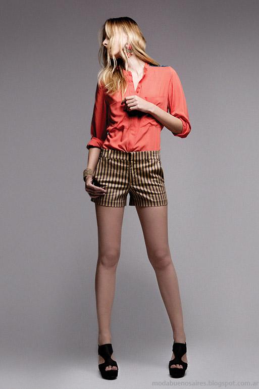 Basement primavera verano 2014. Shorts Moda verano 2014.