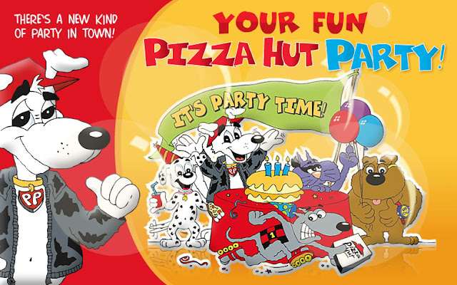 Pizza Hut Kids Party Package