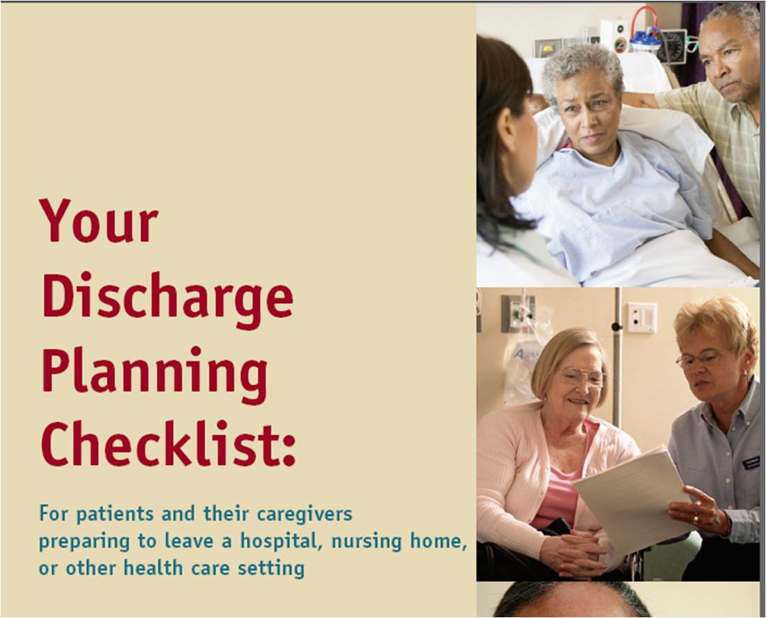 assessment and planning of discharge needs in geriatrics essay This free health essay on essay: nursing care assessment is perfect for adjust these outcomes to suit the needs of discharge planning the nurse.