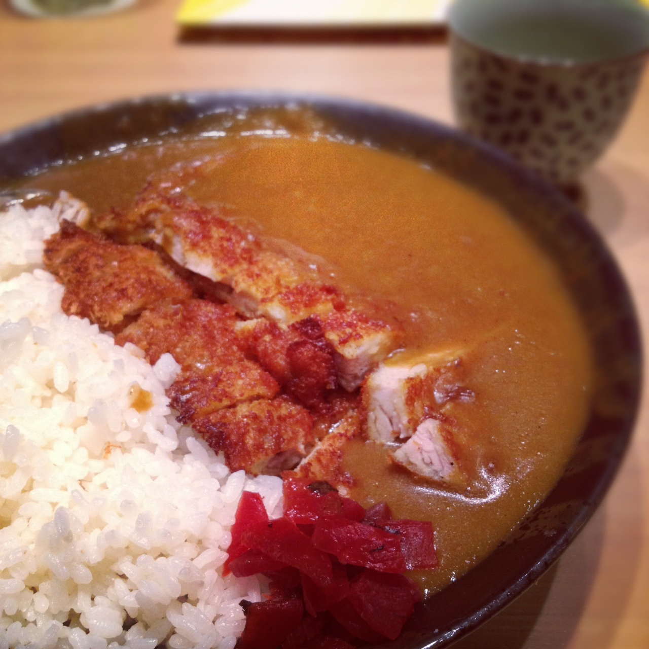 paradgim curry katsudon