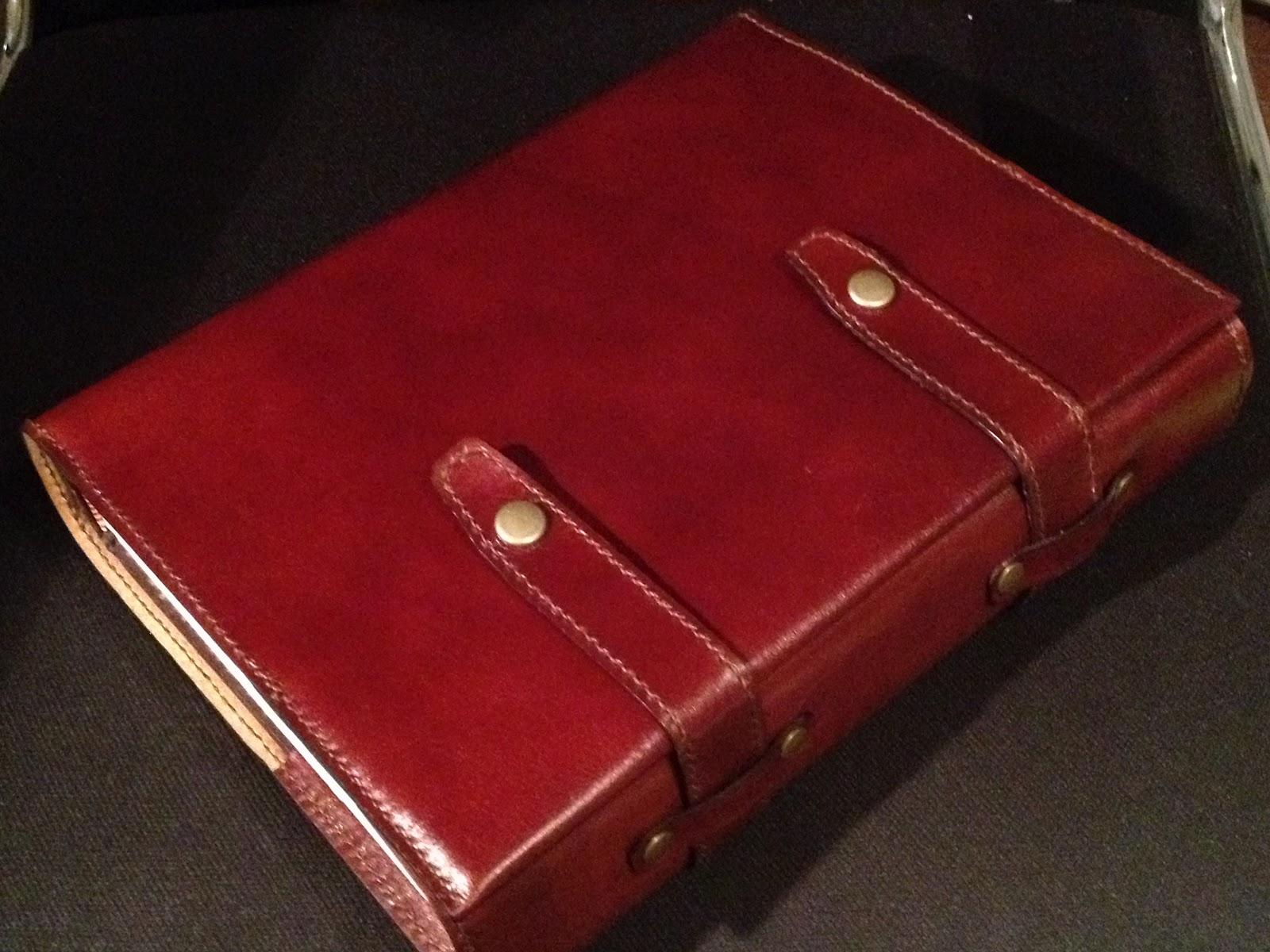 Cinq Craft: イタリアン・カーフレザーの聖書カバー。 Cin...  イタリアン・カー