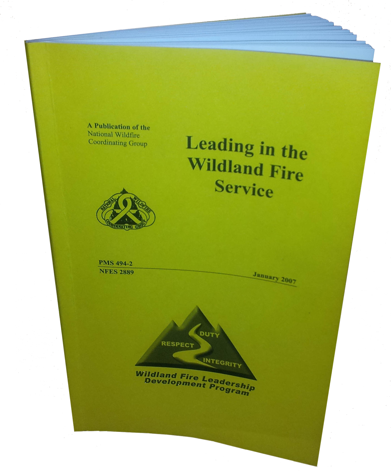 Leading in the Wildland Fire Service publication