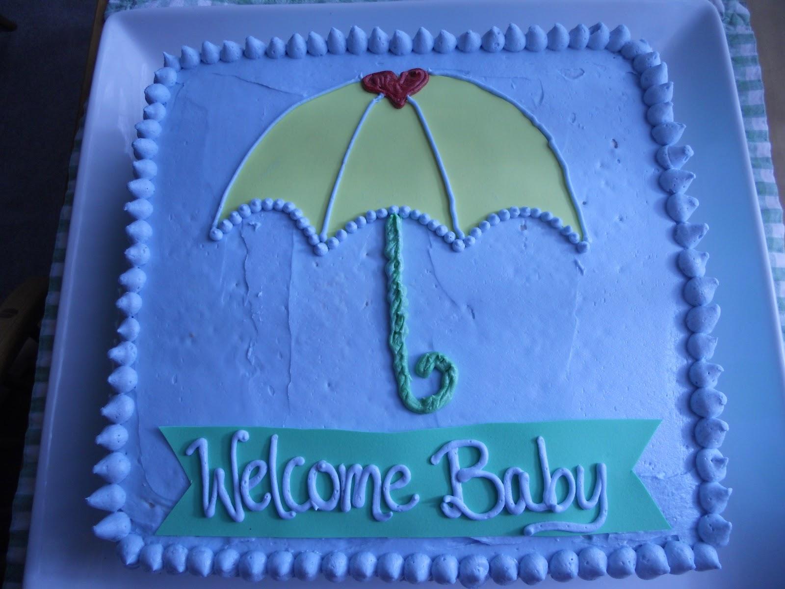 bakedbyrachel umbrella baby shower