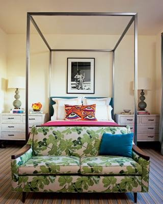Wood Canopy Beds - Contemporary, Children