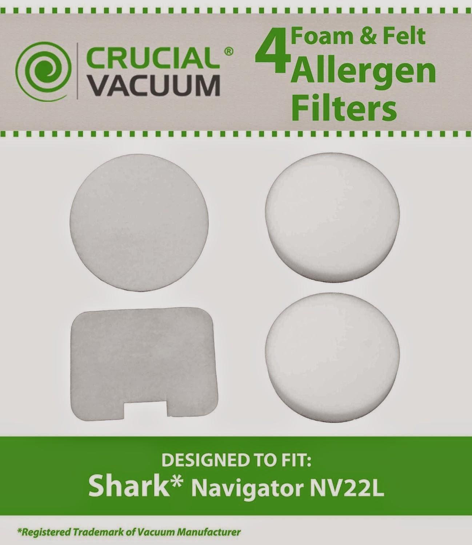 Replacement Vacuum Filter for Shark NV22 Vacuum Model 1pk