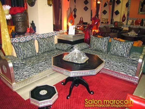 Salon marocain zébra 2014
