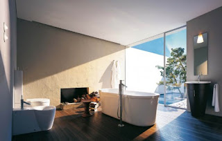 Hansgrohe has many other innovative bathroom designs too. Images follow: