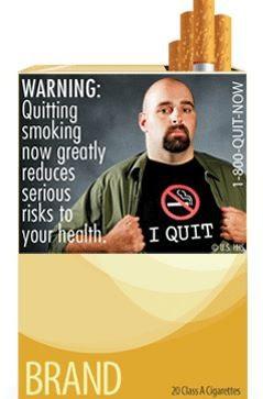 etiquetas en cigarrillos sobre efectos nocivos del cigarro