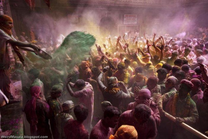 Celebration of Bright Colors - Holi