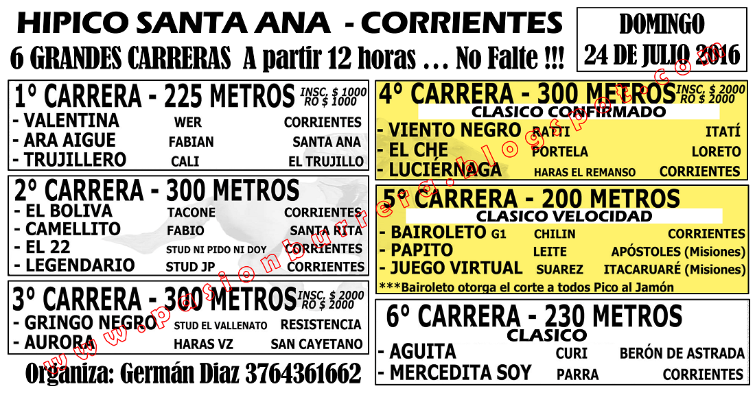 SANTA ANA - 24 - PROGRAMA