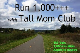 Run 1,000 Tall Mom Club