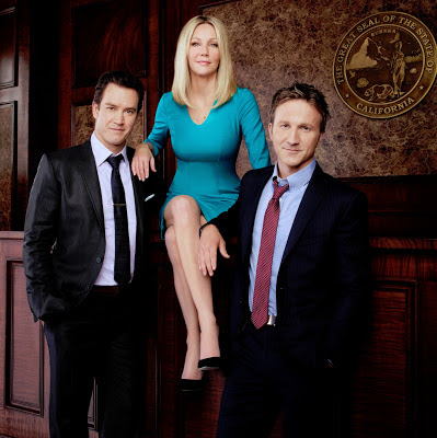 Franklin and Bash and Heather Locklear