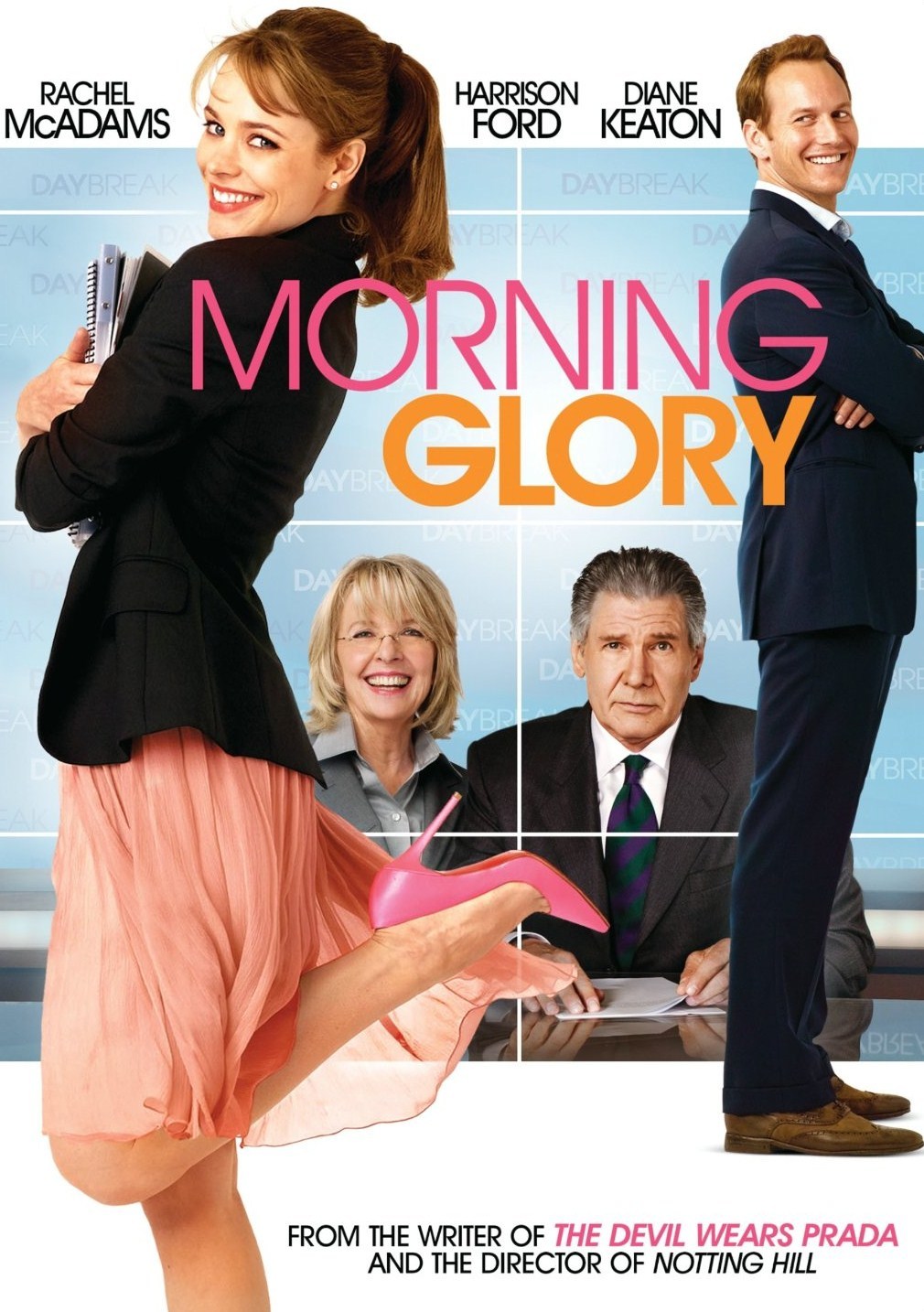 Edge Of The Plank: 'Morning Glory' DVD Film Review