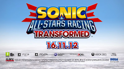 Sonic & All-Stars Racing Transformed Logo - We Know Gamers
