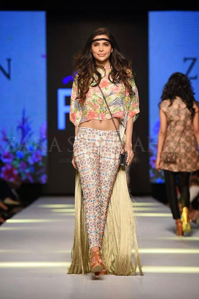 Zara Shahjahan TPFW 2015 plus size summer dresses