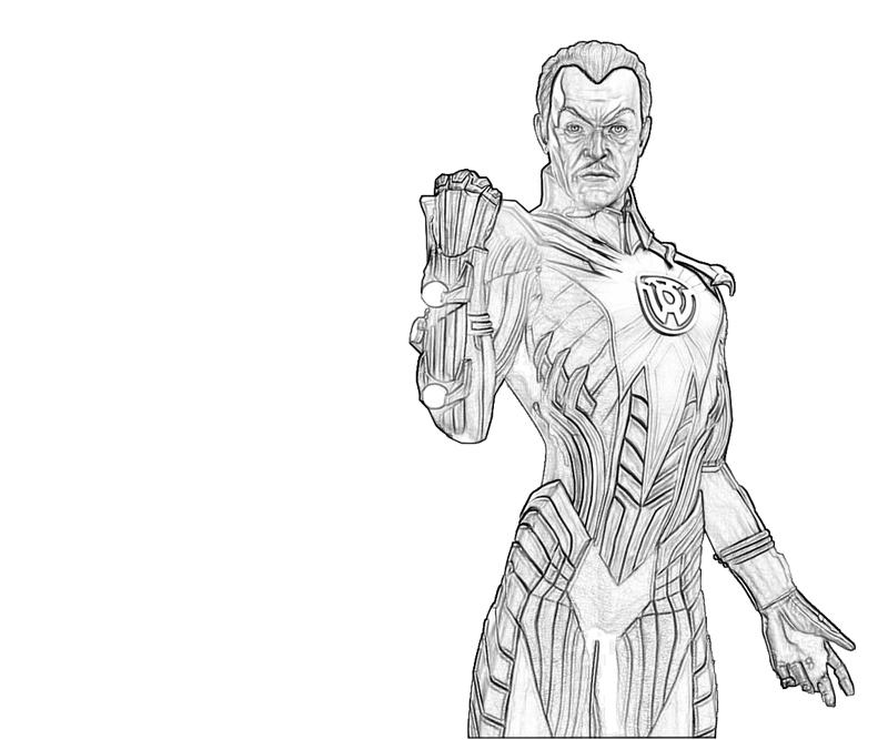 printable thaal sinestro power_coloring pages