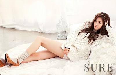 Naeun A Pink - Sure Magazine October Issue 2013