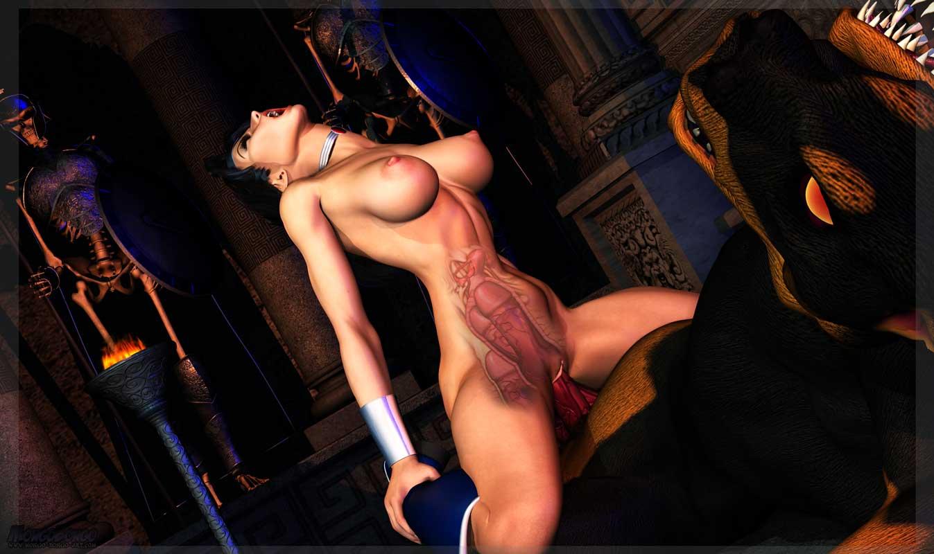 wonder woman 3d porn