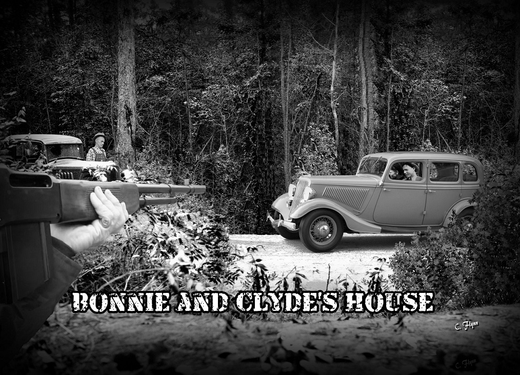 Bonnie and Clydes house