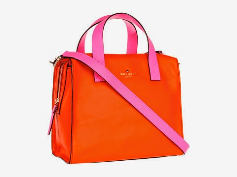 Lincoln Square Little Kennedy colourblock thick smooth leather bag