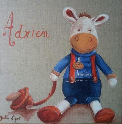 Le doudou d'Adrien