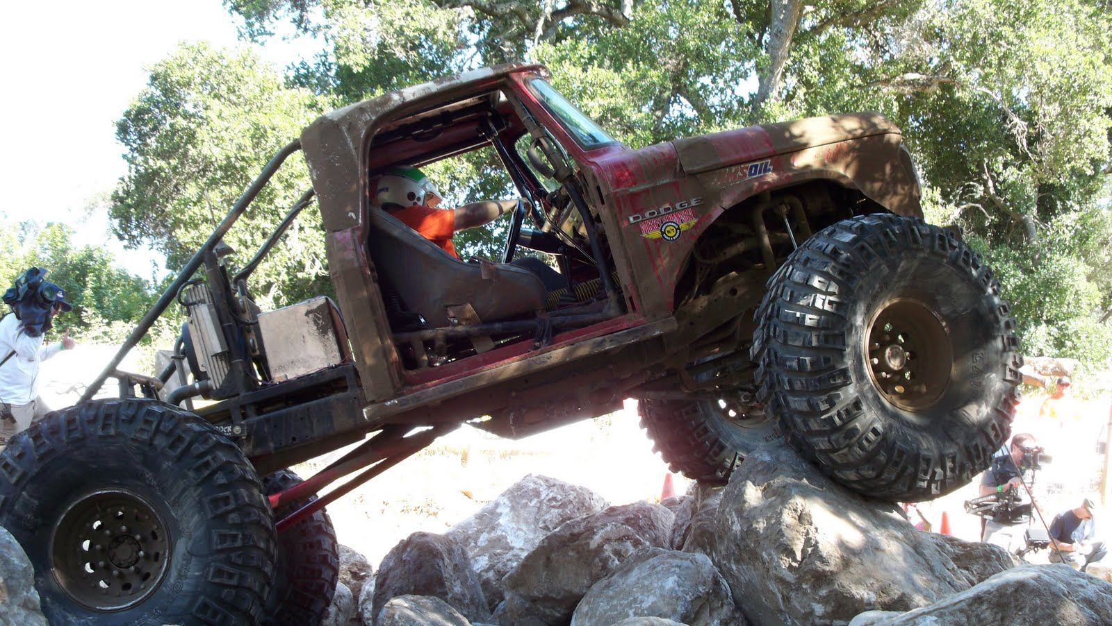 Selected by readers of four wheeler magazine competitors in the top truck challenge are pitted against one another in a series of extreme off road events
