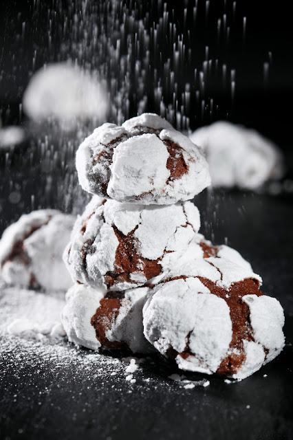 Μπισκοτάκια με σκασίματα / Cookies with cracks