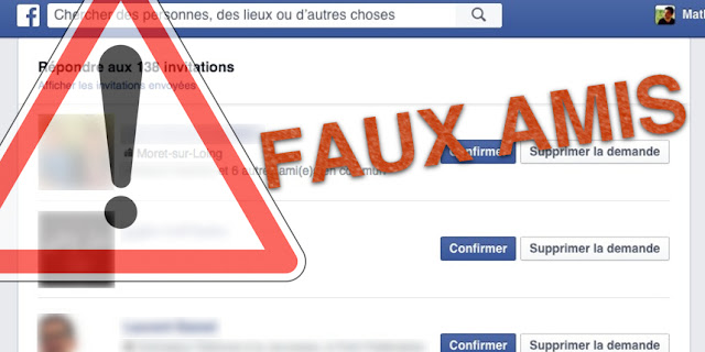 Facebook Messenger : attention aux fausses demandes d'ami !